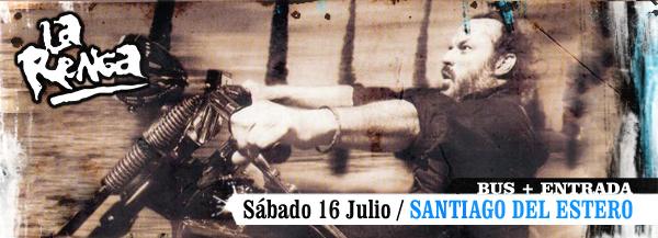 Top La Renga Santiago